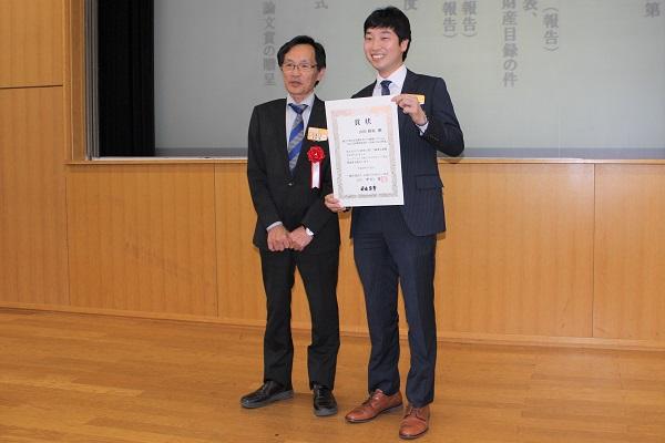 180607トライボロジー会議04: 左から、中村 隆氏、山田脩裕氏