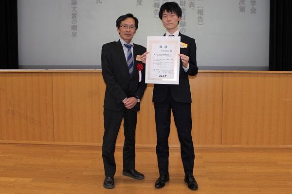 180607トライボロジー会議05: 左から、中村 隆氏、早川昇吾氏