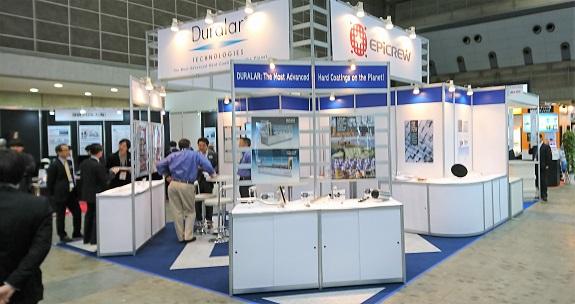 デュララテクノロジーズジャパンのブース: デュララテクノロジーズジャパンのブース