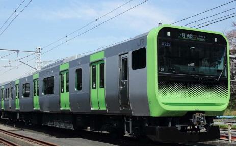山手線E235系通勤形車両