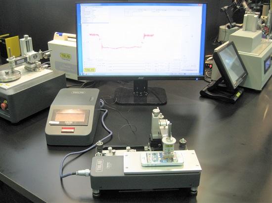 トリニティーラボ「TRILAB 静・動摩擦測定機 TL201Tt」