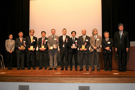 第10岩木賞受賞者と関係者