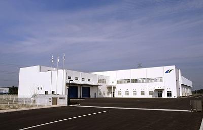 日新電機「滋賀事業所・プラズマ技術開発センター外観」: 滋賀事業所・プラズマ技術開発センター外観