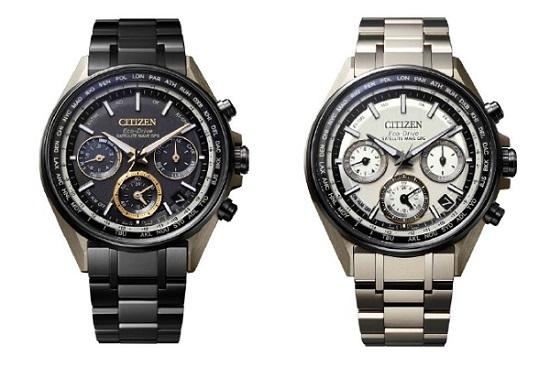 シチズン時計「デュラテクトMRKゴールドを施した腕時計」
