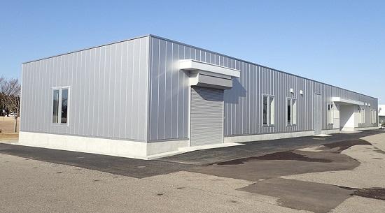 ナノコート・ティーエス 第3工場の外観: ナノコート・ティーエス 第3工場の外観